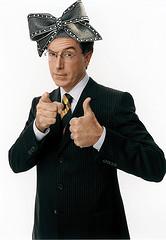 Stephen Colbert likes hats!